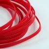 สายถัก 8 mm สีแดง