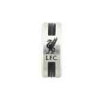 แหวนที่ระลึกลิเวอร์พูล ของแท้ 100% Liverpool FC Liverbird Black Inlay Ring