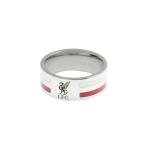 แหวนที่ระลึกลิเวอร์พูล ของแท้ 100% Liverpool FC Mens Colour Stripe Band Ring