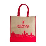 กระเป๋าลิเวอร์พูลของแท้ Liverpool FC Skyline Jute Bag