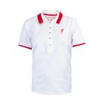 เสื้อโปโลลิเวอร์พูล ลิเบอร์ติ้โปโลสีขาว สำหรับผู้หญิง ของแท้ 100% Liverpool FC Ladies White Liberty Polo