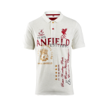 เสื้อโปโลลิเวอร์พูล ของแท้ 100% Liverpool FC History Polo