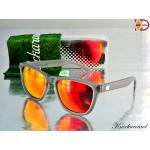 Knockaround New Permium Polarized : FROSTED GREY / RED SUNSET เลนส์โพลาไลซ์