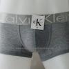 กางเกงในชาย Calvin Klein Boxer Briefs : สีเทา แถบสีเงิน[cotton]