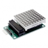 MAX7219 Red Dot Matrix Module