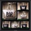 กระเป๋าสะพาย Tote Bag สกรีนลาย G I V E N C H Y