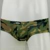 กางเกงในชาย AussieBum Briefs : ลายพราง โทนสีเขียว