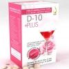 D10 Plus (ดีเท็นพลัส) 2xx-350฿ เพื่อผิวขาวใส 15 ซอง ฟรี EMS
