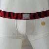 กางเกงในชาย Calvin Klein Boxer Briefs : X สีขาว ขอบสีแดงดำ