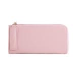 [ พร้อมส่ง ] - กระเป๋าสตางค์แฟชั่น สีชมพูอ่อน ซิปรอบปิดตัว L ใบยาว ดีไซน์สวยคลาสสิค ช่องเยอะ งานสวย น่าใช้มากๆค่ะ