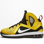 รองเท้าบาส Nike Basketball Elite Series: Lebron 9 P.S. (Taxi) Vrsty Maize/White-Black-Sport Red Size 8.5