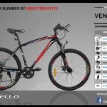 จักรยานเสือภูเขาอลูมิเนียม VENTO 2.1