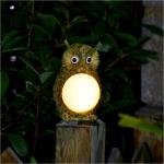 โคมไฟนกฮูก พลังงานแสงอาทิตย์