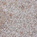 หินรองพื้นธรรมชาติ สีขาว สำหรับตู้ 10 - 12 นิ้ว