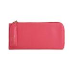 [ พร้อมส่ง ] - กระเป๋าสตางค์แฟชั่น สีชมพูเข้ม ซิปรอบปิดตัว L ใบยาว ดีไซน์สวยคลาสสิค ช่องเยอะ งานสวย น่าใช้มากๆค่ะ