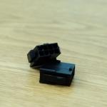 Connector 8 Pin CPU / ตัวเมีย / สีดำ JMT.