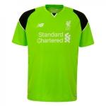 เสื้อผู้รักษาประตูลิเวอร์พูล 2016-2017 ทีมเหย้าของแท้ Liverpool FC Mens Short Sleeve Home Goalkeeper Shirt 16/17