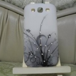 Case Flower Diamond for Samsung Galaxy S3