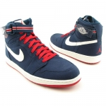 รองเท้าบาส Nike Men's NIKE AIR JORDAN 1 HIGH STRAP BASKETBALL SHOES Size 8