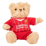 ตุ๊กตาหมีลิเวอร์พูลของแท้ Liverpool FC Retro Kit Bear