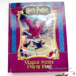 Harry Potter literary Magical Scenes Pop-up book (ปี 2005 - มือสอง)