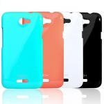 Case ROCK nakedshell Naked Color-ful series for HTC One X