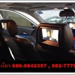 จอ LCDฝังหัวเบาะ 7นิ้ว+ริโมท แต่งรถสไตร์ VIP มีทุกสี