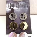 เซ็ทตุ้มหู - Harry Potter Earring Set