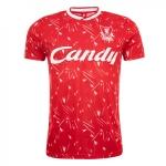 เสื้อเหย้าลิเวอร์พูลแคนดี้ของแท้ เสื้อเรทโรย้อนยุค Candy Home Shirt