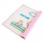 แผ่นยางปูนอนเด็ก อัดอากาศ จากยางธรรมชาติ Natur แผ่นใหญ่ ขนาด 60 x 90 cm