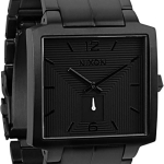 Nixon District Watch in All Black