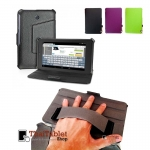 Case Asus FonePad ME372 รุ่น Luxury Handle Leather Case Smart Cover