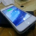 ชุดชาร็จไร้สายสำหรับ Iphone 5 / 5s / 5c (แท่นชาร์จ + แผ่นการ์ด)