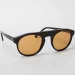 แว่นตา Super Sunglasses The Racer Sunglasses in Black Pilot Series
