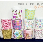 Box Pen Decoupage
