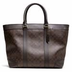 กระเป๋าผู้ชาย COACH BLEECKER SIGNATURE WEEKEND TOTE F70853