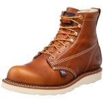 "รองเท้า Thorogood Men's American Heritage 6"" Plain-Toe Boot Size 7.5"