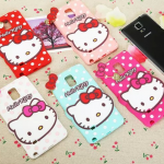 ซิลิโคน Hello Kitty For Samsung Galaxy NOTE4
