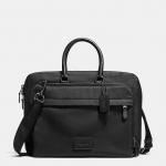 กระเป๋าผู้ชาย COACH METROPOLITAN SLIM BRIEF IN NYLON F71737 : BLACK