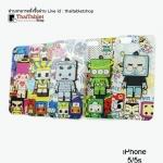 TPU เคสครอบหลัง ลายการ์ตูน For iPhone 5/5s