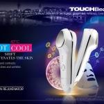 BIGSALE!เครื่องนวดหน้า ร้อน เย็น , Touch Beauty Hot & Cool Skin Rejuvenator(ไร้สาย)