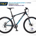 AVALANCHE SPORT Hydraulic -Disc 27 Speed Shimano Alivio