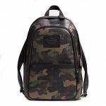 กระเป๋าเป้ผู้ชาย COACH รุ่น HERITAGE SIGNATURE EMBOSSED COATED CANVAS BACKPACK F71500