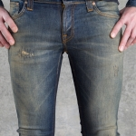 กางเกงยีนส์ Nudie Jeans Tight Long John Madde Replica