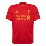 เสื้อลิเวอร์พูล 2016-2017 ทีมเหย้าของแท้ Liverpool FC Mens Short Sleeve Home Shirt 16/17