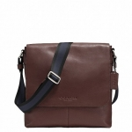 กระเป๋าผู้ชาย COACH รุ่น SULLIVAN SMALL MESSENGER IN SMOOTH LEATHER F72108 : MAHOGANY