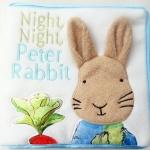 [มีตำหนิ]หนังสือผ้าเนื้อนุ่มนิ่ม กระต่ายน้อย Night, Night, Peter Rabbit