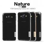Nillkin Nature Slim Clear TPU Case Cover for Samsung Galaxy A8