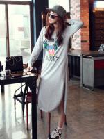 (พร้อมส่ง)ชุดยาวแฟชั่นเกาหลี