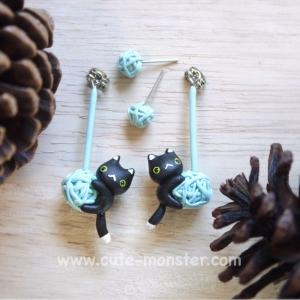 Little cat & wool (Black)